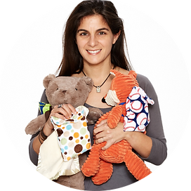 Carolyn Rosen, Pouchie Pals, mom entrepreneurs, environmentally friendly, business ideas for moms, transitional objects, self soothe, security blanket, blankie, environmentally friendly, environmentally friendly products, Parent tested parent approved