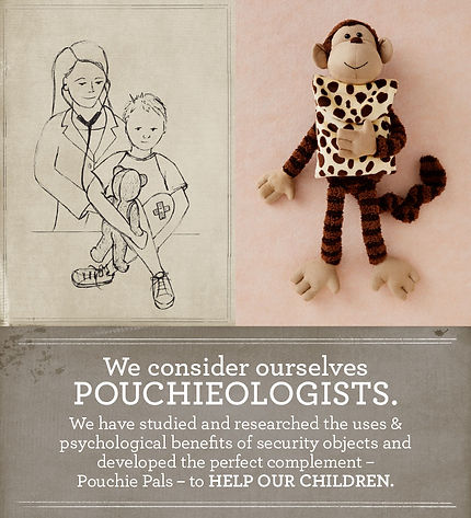 Pouchieologist, Parent tested parent approved, Child Psychology, Developmental Theory, child tested, child approved, transitional object, security blanket, blankie, security object, boo boo, self soothing, anxiety in children, how to deal with anxiety