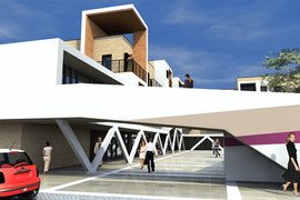 Nuovo centro urbano Pianiga VE (Venetoprogetti)