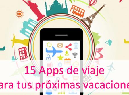 15 Apps de viaje para tus próximas vacaciones!!!