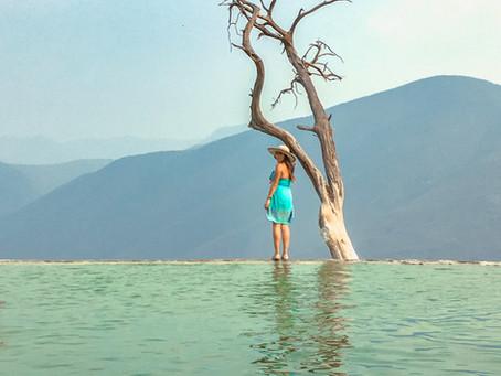 Visitando el Tule y Hierve el Agua