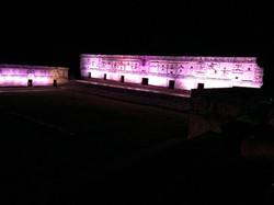 Espectáculo de luces Uxmal