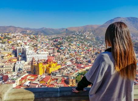 Paseando por la ciudad de Guanajuato