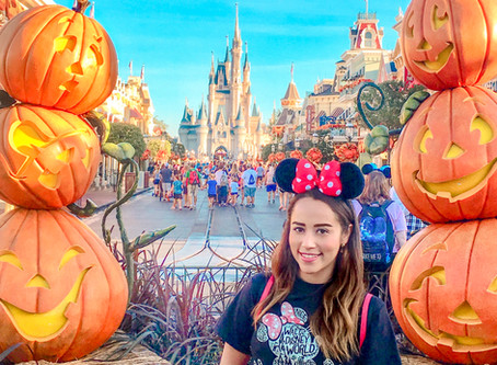 Disfrutando el Otoño en Walt Disney World, mi época favorita.