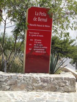 Peña de Bernal marvilla natural de m