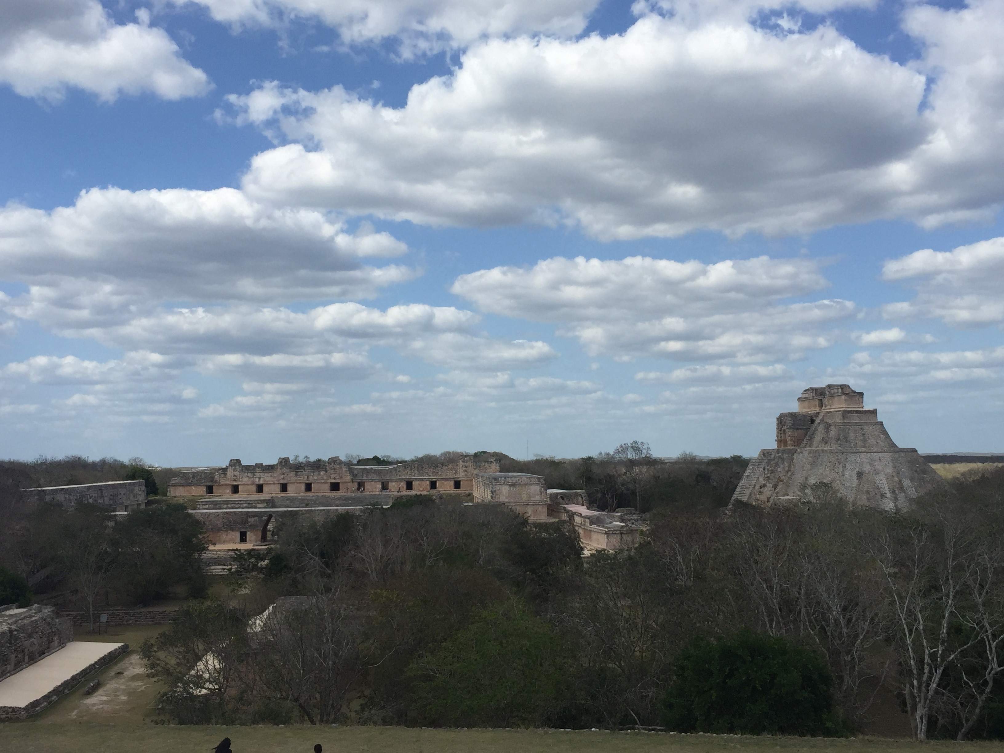 Vista superior Uxmal