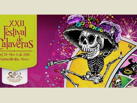 Festival de Calaveras 2016 en Aguascalientes