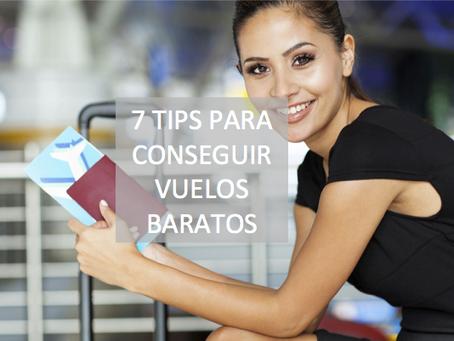 7 Tips para conseguir vuelos baratos