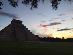 Atardecer Chichen Itzá