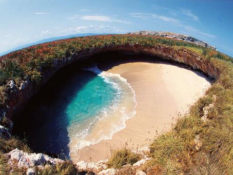 Playa del amor en las Islas Marietas, recibe nuevamente a los turistas