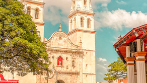 Recorriendo la ciudad de Campeche