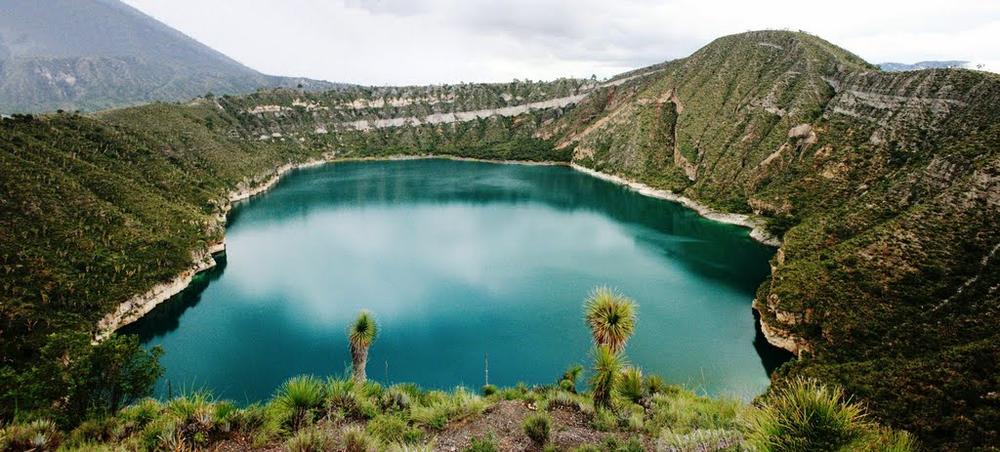 Los asombrosos lagos cráter de Puebla, el secreto de la cuenca ...