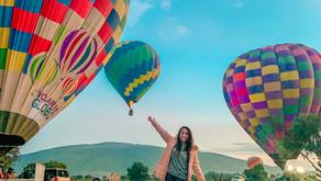 Volar en Globo sobre Teotihucán