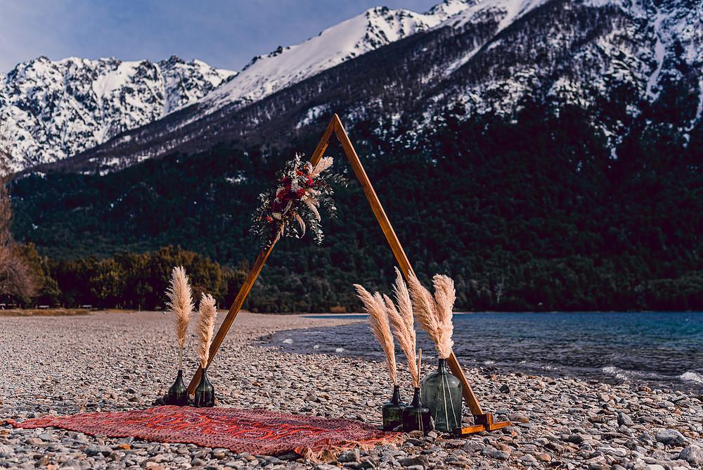 Cerimonia Intima em Bariloche Renovação de Votos  de Casamento em Bariloche Mini Wedding Bariloche