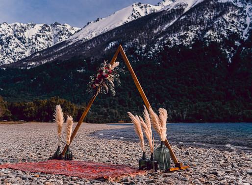 Ensaio Boutique: Sessão Fotográficos com Decoração - Perfeitos para Renovação de Votos em Bariloche
