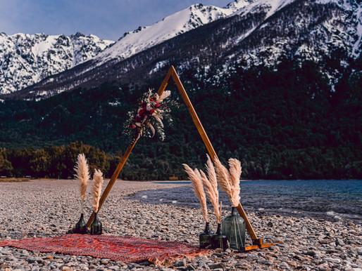 Ensaio Boutique: Sessão Fotográfica com Decoração - Perfeita para Renovação de Votos em Bariloche