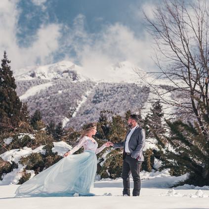 Ensaio Trash the Dress em Bariloche - Davi Minatto Fotógrafo Brasileiro em Bariloche