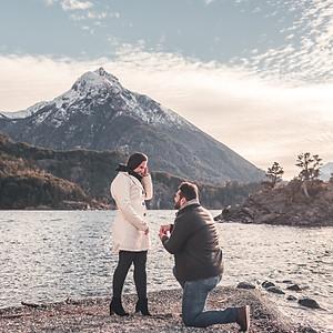 Rafaela & Guilherme | Pedido de Casamento em Bariloche