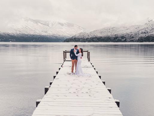 Ensaio Fotográfico na Neve em Bariloche