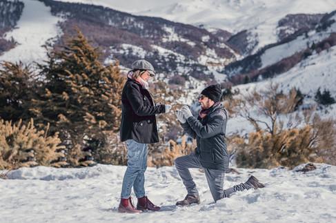 Davi Minatto Fotógrafo Brasileiro em Bariloche, Pedido de casamento