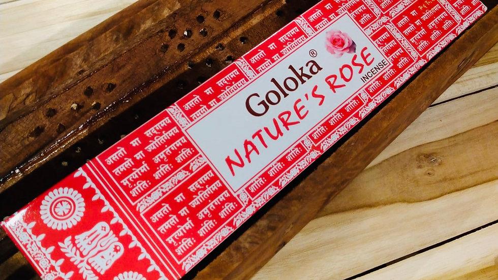 Bâtonnets encens Goloka Nature's Rose
