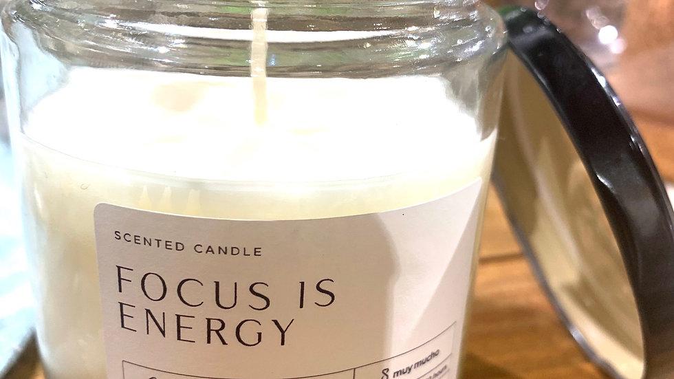 Bougie parfumée FOCUS IS ENERGY