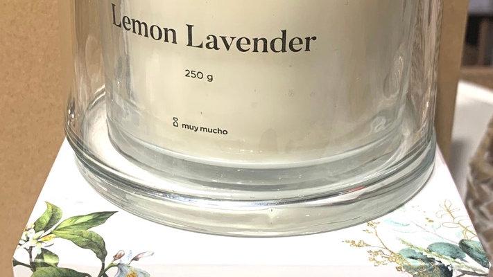 Bougie parfumée Lemon Lavender