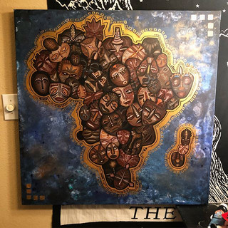 Land of Greatness ✨_3ft by 3ft _Acrylic