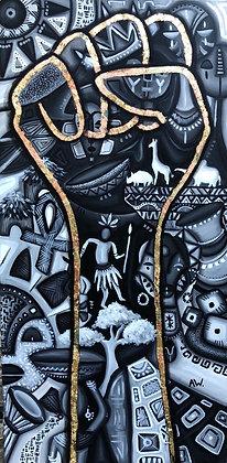 POWER canvas prints