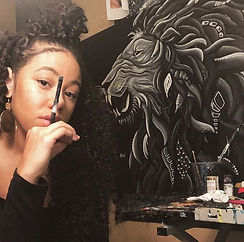 Shoutout to my favorite paint brush🎨✨ #