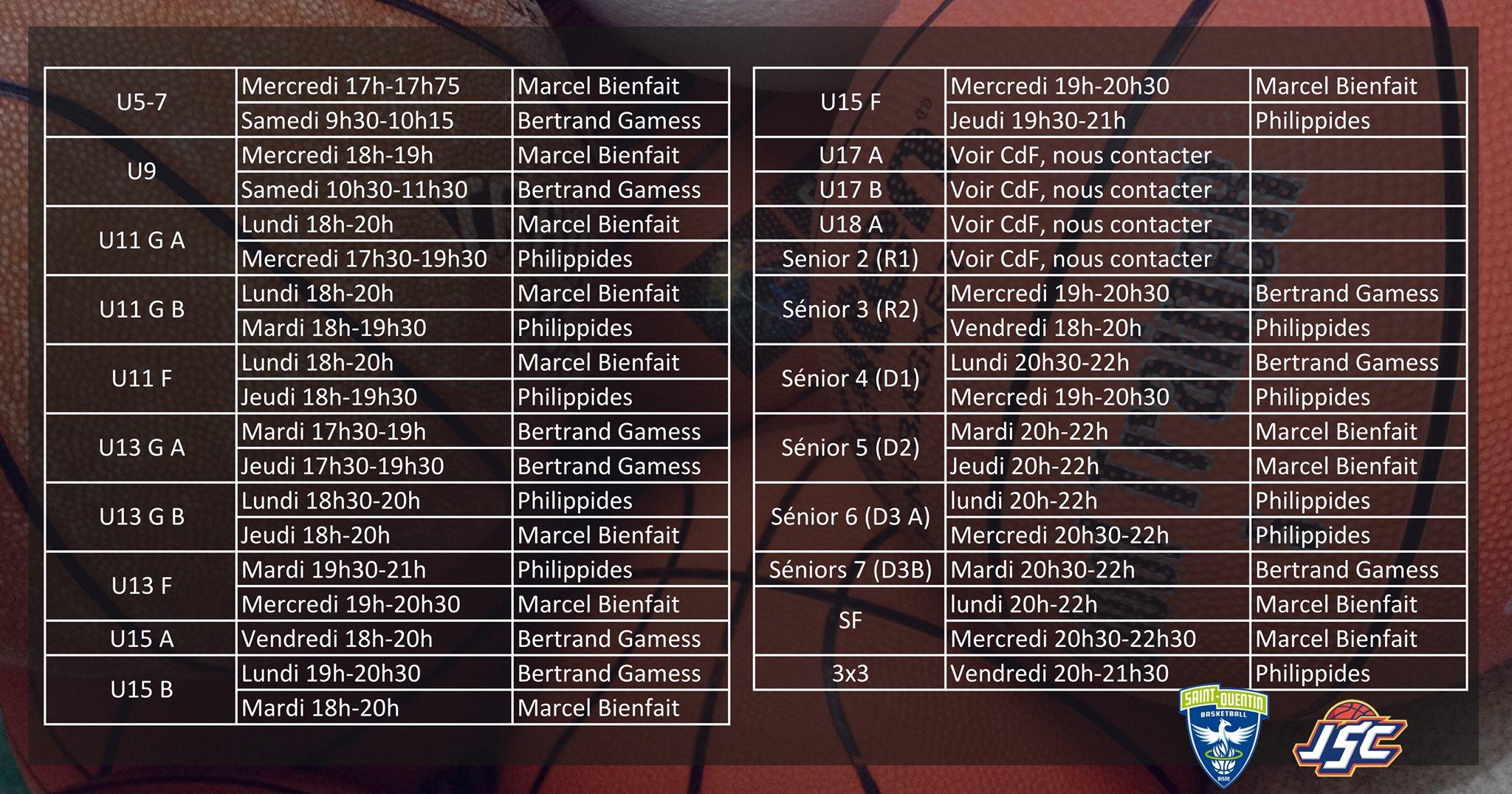 Saint-Quentin Basketball Saint-Quentin Maillot Officiel Ext/érieur 2019-2020 Maillot de Basketball Mixte