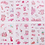 Thumbnail: Cartoon hand-painted stickers set