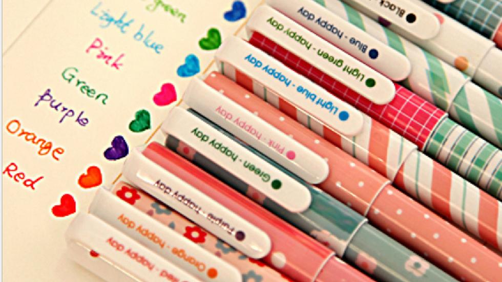 Multicolor Pen Set 0.38mm