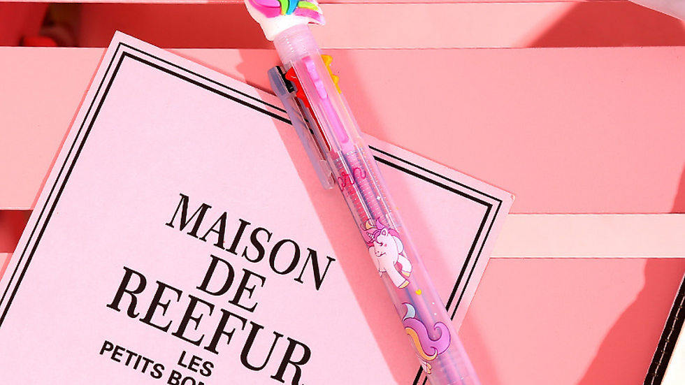 Unicorn Pen with 6 colors