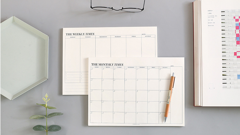 Productivity Planner Daily / Monthly