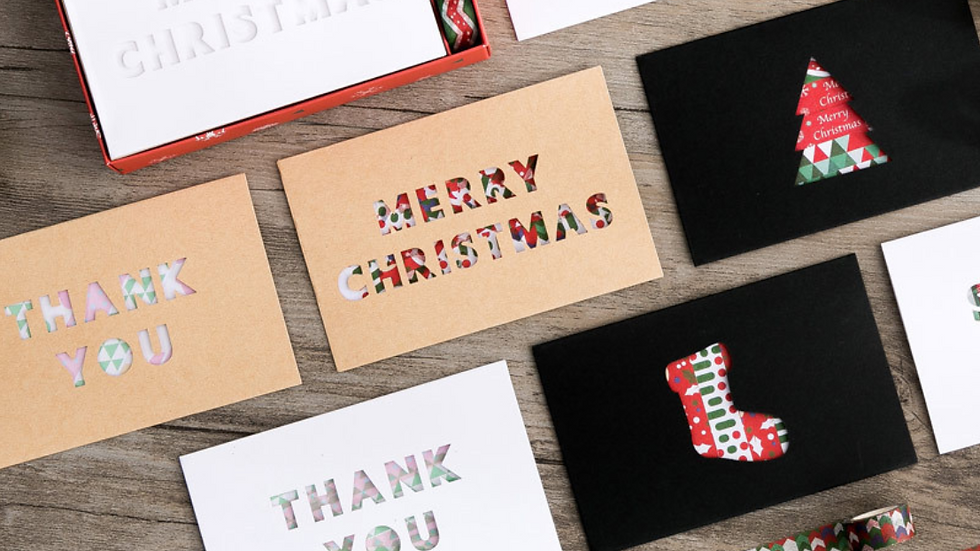 DIY Celebration Gift Card Package with 3 tapes