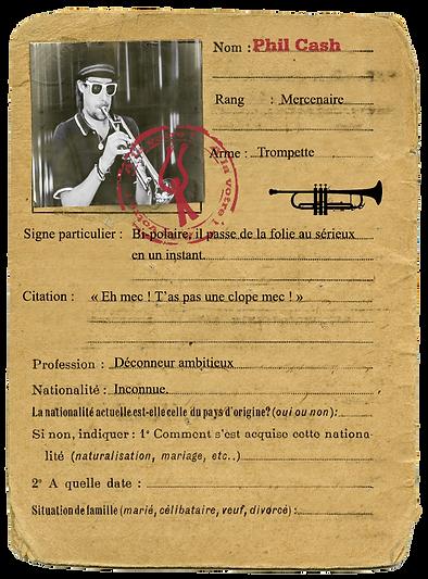 Carte d'identité Koutla