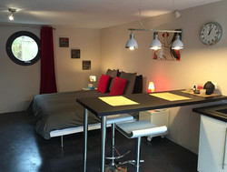 Beau Séjour Studio Moderne