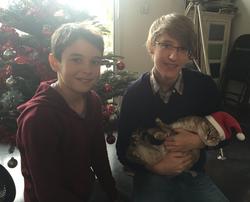 Benjamin & Nathan - Noël 2015