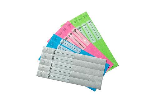 Детские бумажные браслеты
