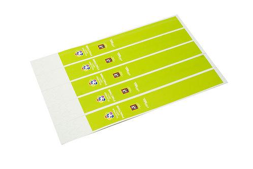 Широкие бумажные браслеты Cinta
