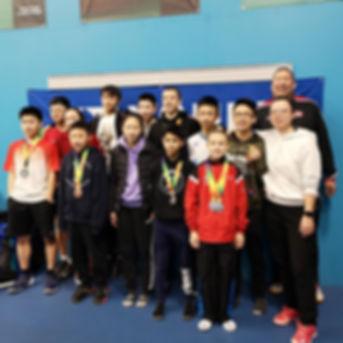 Gao badminton athletes win medals