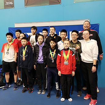 Gao badminton athletes win medals