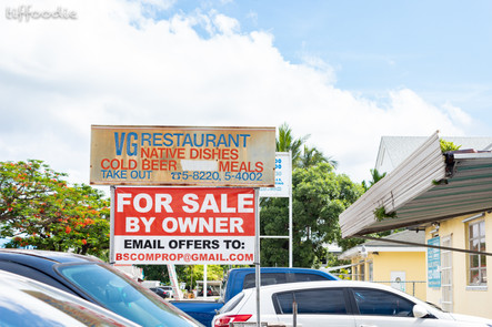 Bahamian local restaurant