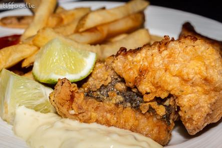 Bahamian fish n chips