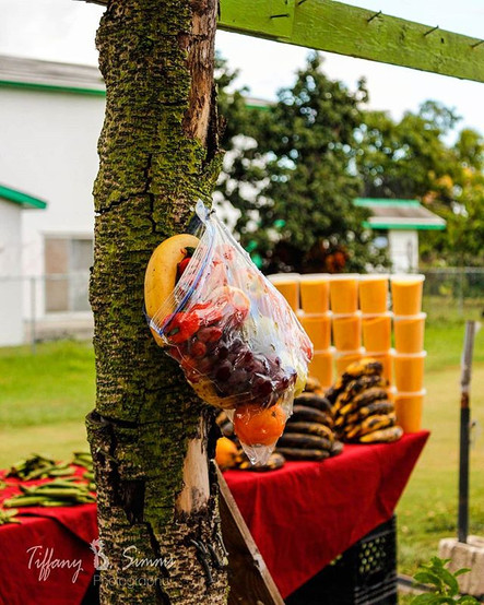 Bahamian-grown fruits and vegetables