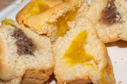 Bahamian coconut and pineapple tarts