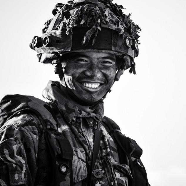 That Famous Gurkha Smile
