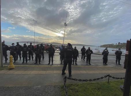 Autoridad Marítima incrementó controles durante cuarentena en Chonchi