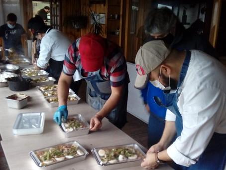 Hogares de adultos mayores y organizaciones vecinales recibieron ayuda solidaria en Puerto Montt
